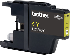 Brother LC-1240Y yellow Original Originální cartridge Brother LC 1240 Y - žlutá