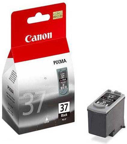 Canon PG-37 black Original Originální černá cartridge PG37