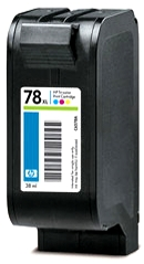 HP 78 XL (C6578AE) color - renovace