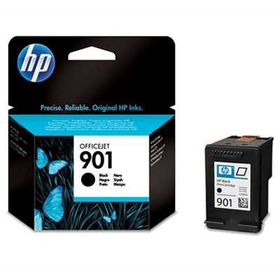 HP 901 (HP CC653AE) black original Originální cartridge HP901 (HP CC 653 AE) - černá