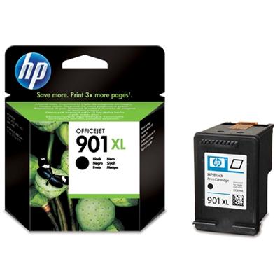 HP 901xl (HP CC654AE) black original Originální cartridge HP901xl (HP CC 654 AE) - černá