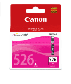 Canon CLI-526M magenta originál Originální cartridge CLI526 M - purpurová