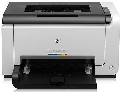HP LaserJet Pro CP1025nw e-print