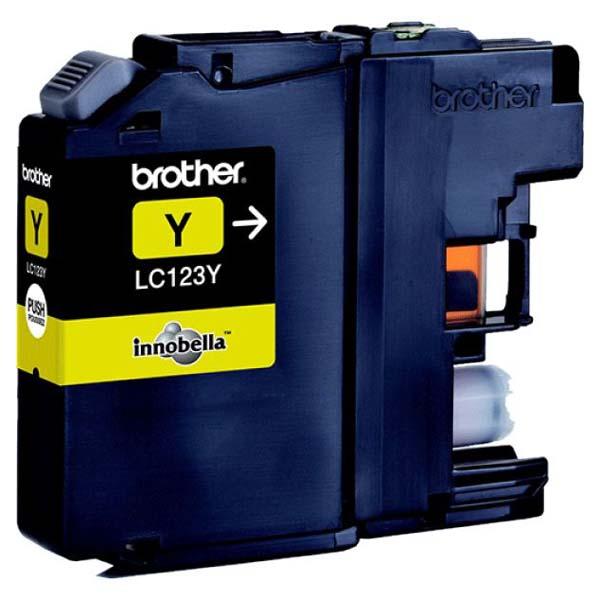 Brother LC-123Y yellow Original Originální cartridge Brother LC-123 Y - žlutá