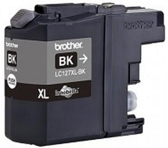 Brother LC-127XLBk - black Original Originální cartridge Brother LC-127 XLBk - černá