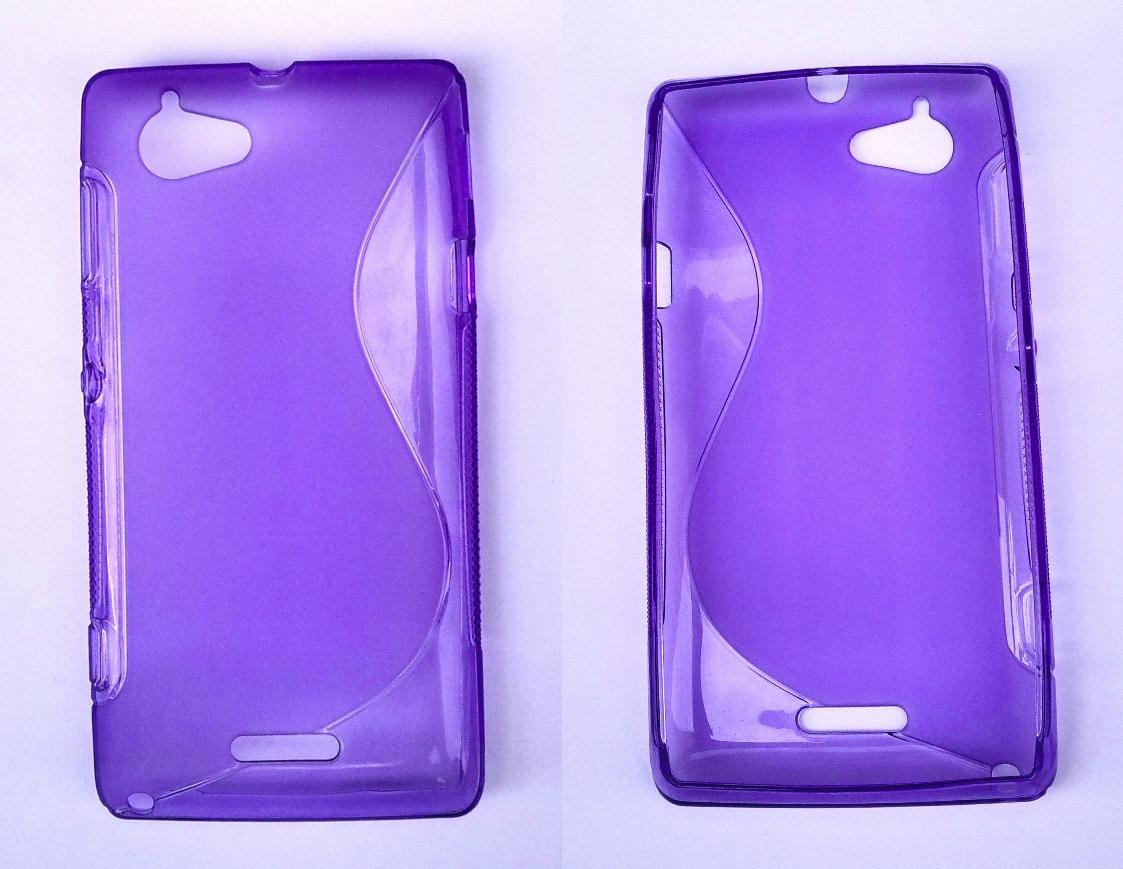 Silikonové pouzdro Sony Xperia L Silikonový kryt Sony C2105