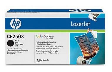 HP CE250X (HP 504X) black original Originální cartridge HP CE 250 X - černá