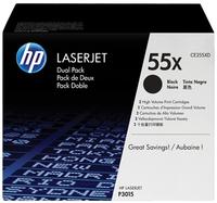 HP CE255XD (HP 55XD) black Original Originální toner HP CE255XD (HP 55XD) - černý
