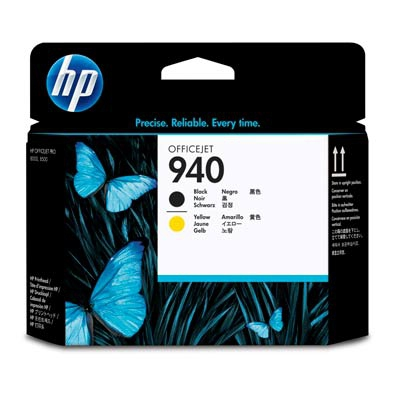 HP C4900A (HP 940) - black / yellow multipack original Originální cartridge HP C4900A (HP940) - černá + žlutá