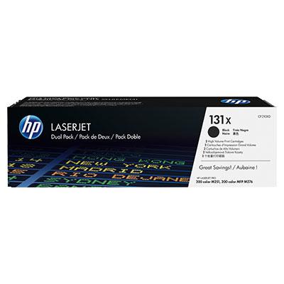 HP CF210XD (HP 131X) - twinpack original Originální toner HP CF 210X (HP131X) - černý 2x