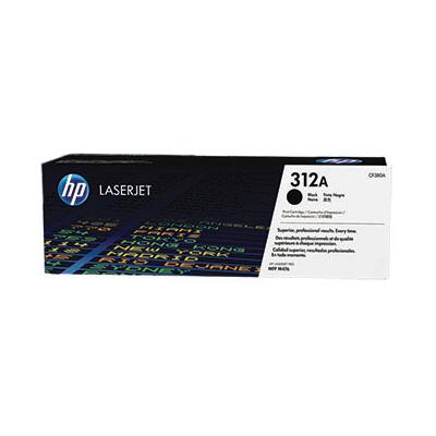 HP CF380A (HP 312A) - black original Originální toner HP CF 380A (HP312A) - černý