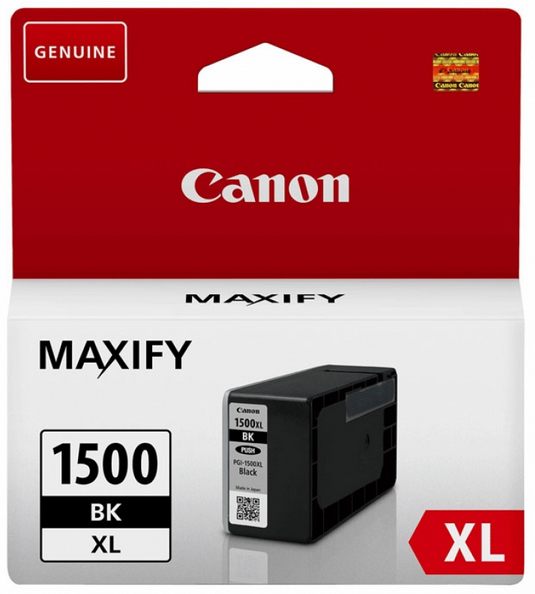 Canon PGI-1500xl black Originální cartridge Canon PGI1500 xl - černá