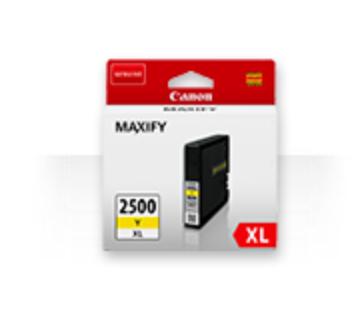 Canon PGI-2500xl yellow Originální cartridge Canon PGI2500 xl - žlutá