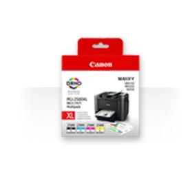 Canon PGI-2500xl multipack Bk/C/M/Y Originální cartridge Canon PGI2500 xl - sada čtyř barev