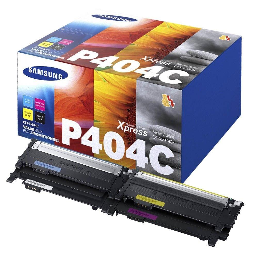Samsung CLT-P404C multipack original Originální cartridge Samsung CLT-P404C - sada čtyř barev