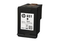 HP 651 (C2P10AE) black - repas