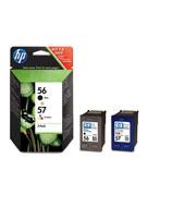 HP 56+57 (SA342AE) combo pack (C6656 + C6657) Originální černá a barevná cartridge - HP 56 a HP 5