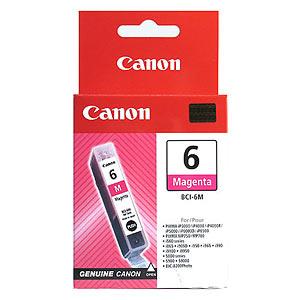 Canon BCI-6M magenta Originál Originální inkoust Canon BCI6 M - purpurový