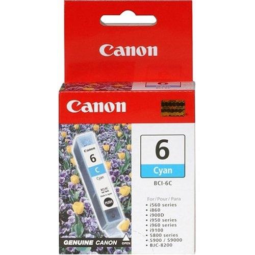 Canon BCI-6C cyan Originál Originální inkoust Canon BCI6 C - azurový