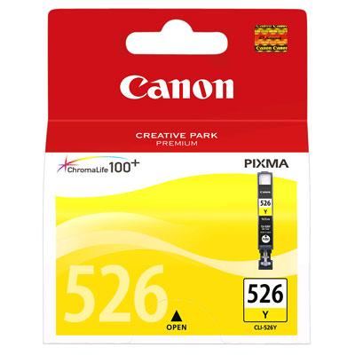 Canon CLI-526Y yellow originál Originální cartridge CLI526 Y - žlutá