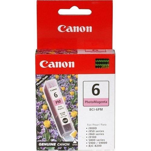 Canon BCI-6PM photo magenta Originál Originální inkoust Canon BCI6 PM - světle červený