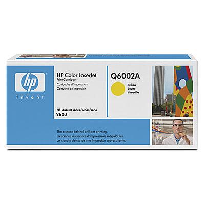 HP Q6002A (HP 124A) yellow Originál Originální cartridge HPQ6002A (HP124A) - žlutá