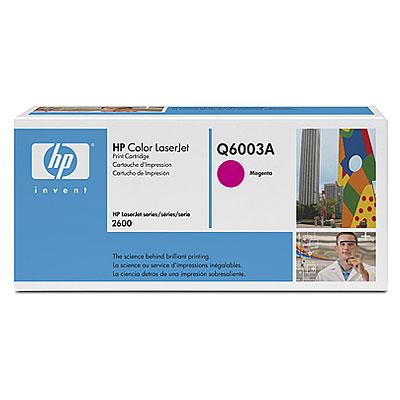 HP Q6003A (HP 124A) magenta Originál Originální cartridge HPQ6003A (HP124A) - purpurová