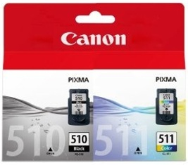 Canon PG-510 / CL-511 Multipack Originální sada náplní PG510 a CL511