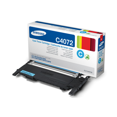 Samsung CLT-C4072S cyan Originál Originální cartridge Samsung CLTC4072S - azurová