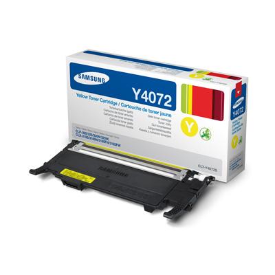 Samsung CLT-Y4072S yellow Originál Originální cartridge Samsung CLTY4072S - žlutá