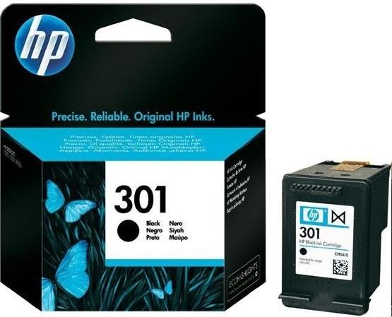 HP 301 (HP CH561EE) black Originál Originální černá náplň HP301 (CH561EE)