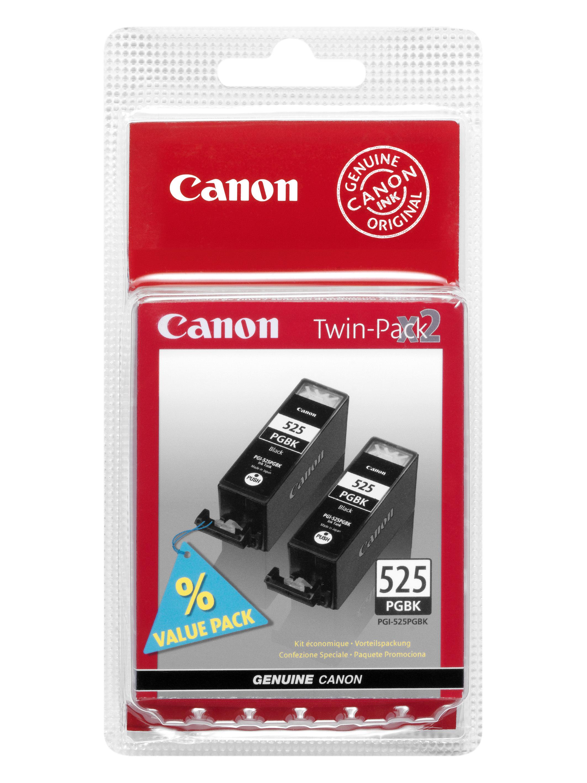 Canon PGI-525 PGBk black TwinPack Originál Originální cartridge Canon PGI525 Bk - černá - dvojité balení