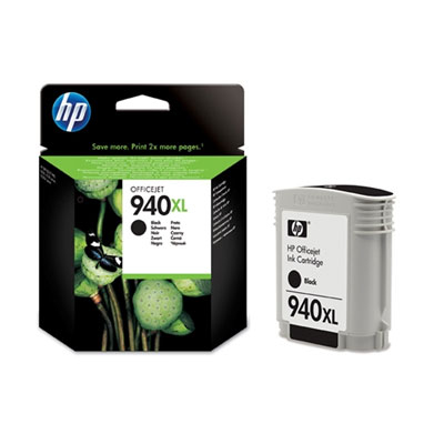 HP C4906AE (HP 940 XL) black Originál Originální cartridge HP C4906 AE (HP940xl) - černá