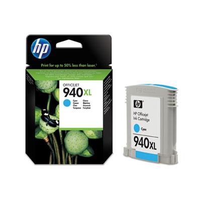 HP C4907AE (HP 940 XL) cyan Originál Originální cartridge HP C4907 AE (HP940xl) - azurová