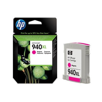 HP C4908AE (HP 940 XL) magenta Originál Originální cartridge HP C4908 AE (HP940xl) - purpurová