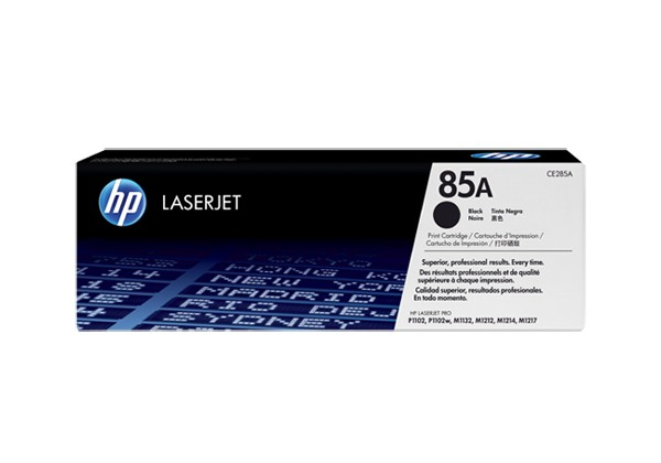 HP CE285A (HP 85A) black Originál Originální náplň HP CE 285A (HP85A) - černá