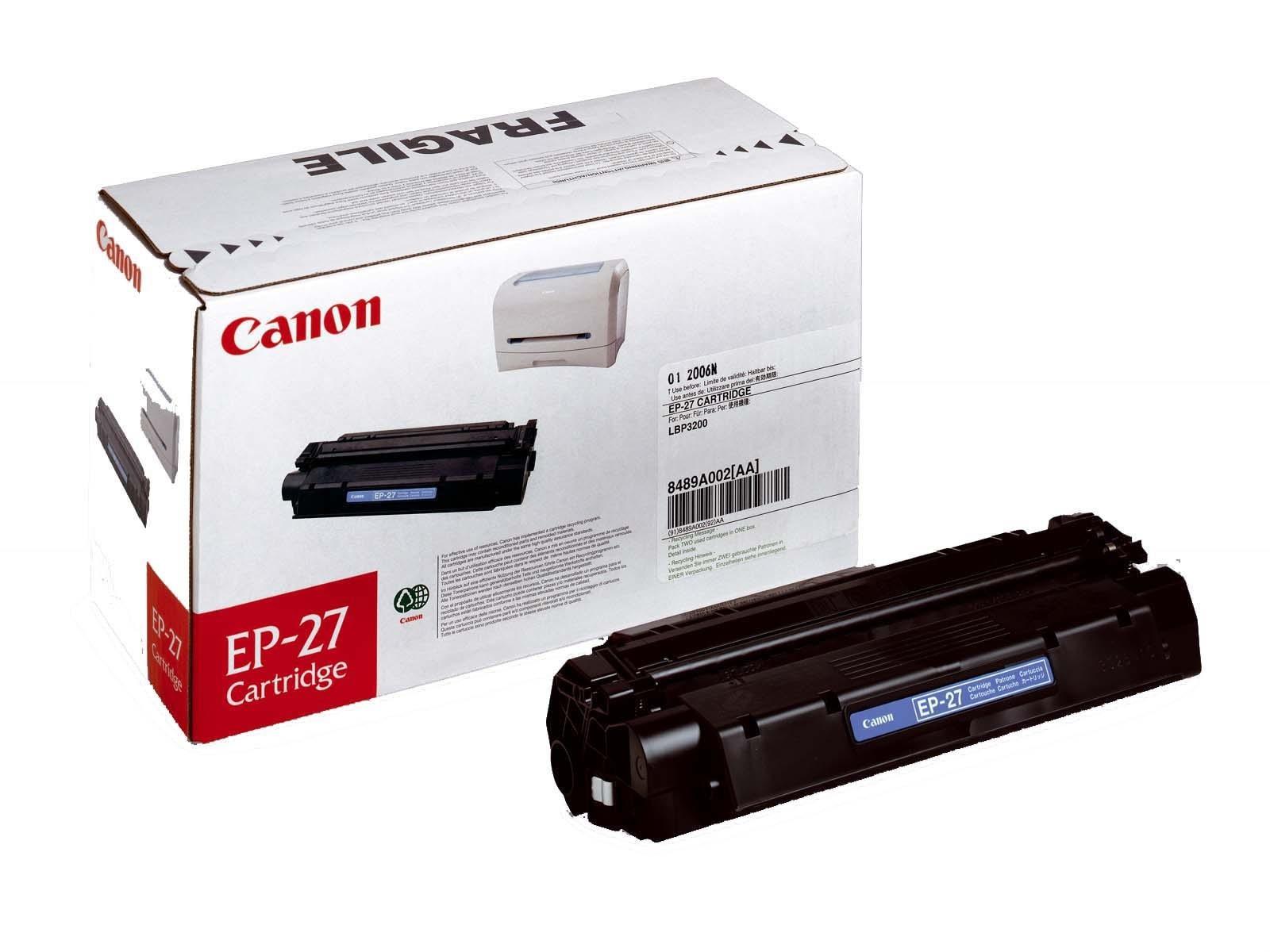 Canon EP-27 cartridge black Originál Originální cartridge Canon EP27 - černá
