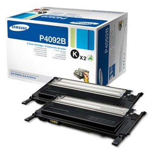 Samsung CLT-P4092B black twinpack Originál Originální cartridge Samsung CLTP4092B - černá (2x)