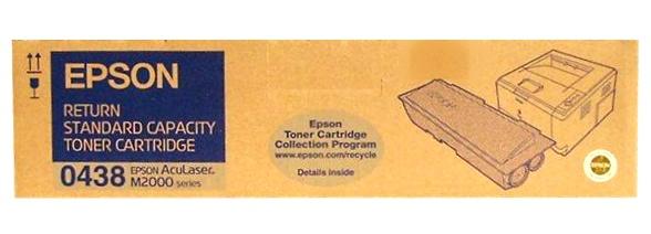 Epson C13S050438 (C13S050436) black Originál Originální cartridge Epson C13S050438 (C13S050436) - černá