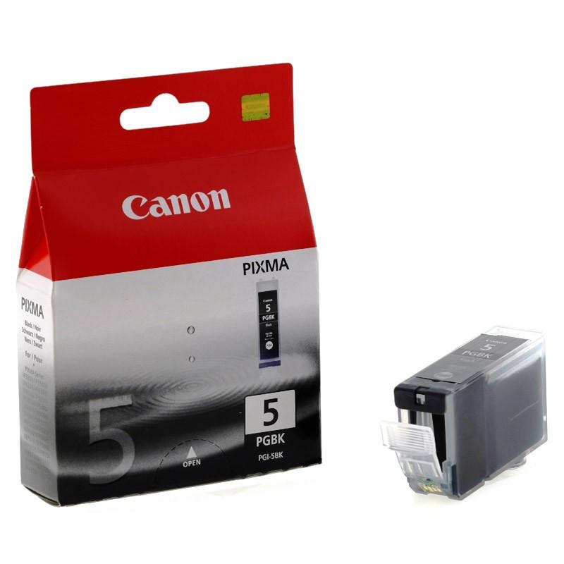 Canon PGI-5Bk black Originál Originální černá náplň PGI5 Bk (5 PGBK)