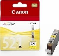 Canon CLI-521Y yellow - Originál Originální náplň Canon CLI521Y - žlutá