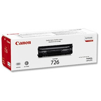 Canon CRG-726 black Originál Originální cartridge Canon CRG726 - černá