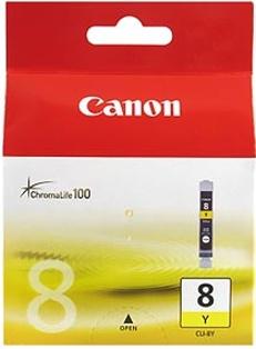 Canon CLI-8Y yellow Originál Originální žlutá náplň CLI8 Y