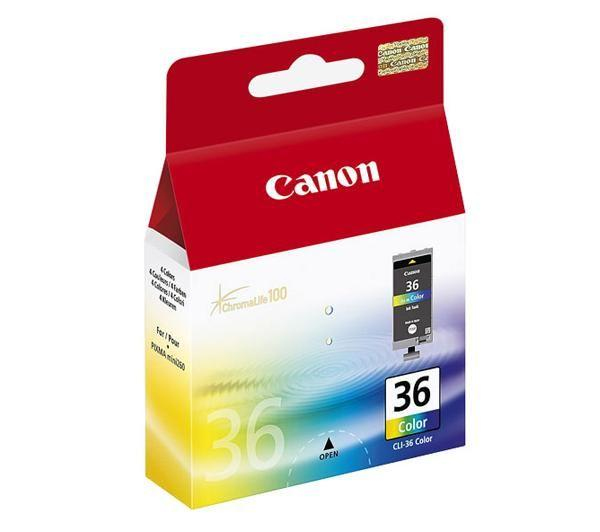 Canon CLI-36 color Originál Originální cartridge Canon CLI36 - barevná
