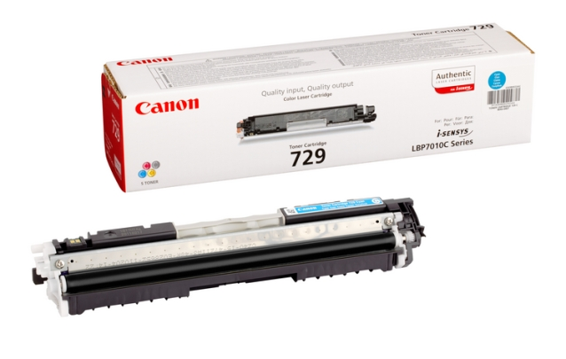 Canon CRG-729C cyan Originál Originální Canon cartridge 729 - azurová
