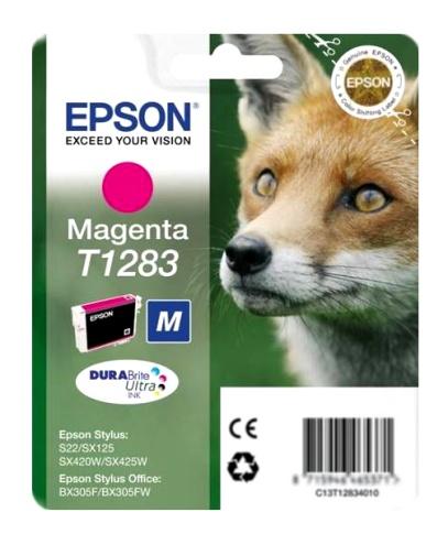 Epson T1283 magenta Originál Originální cartridge Epson T1283 - purpurová