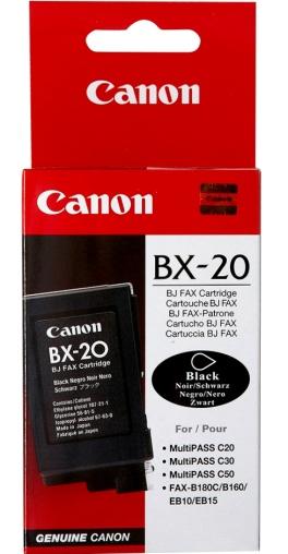 Canon BX-20 Originál (poškozený obal) Originální černá cartridge BX20
