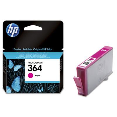 HP CB319EE (HP 364) magenta Originál Originální cartridge HP CB319EE (HP-364) - purpurová