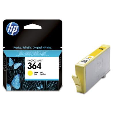HP CB320EE (HP 364) yellow Originál Originální cartridge HP CB320EE (HP-364) - žlutá