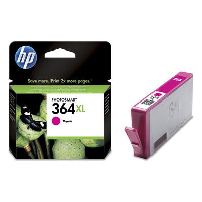 HP CB324EE (HP 364 XL) magenta Originál Originální cartridge HP CB324E (HP 364xl) - purpurová